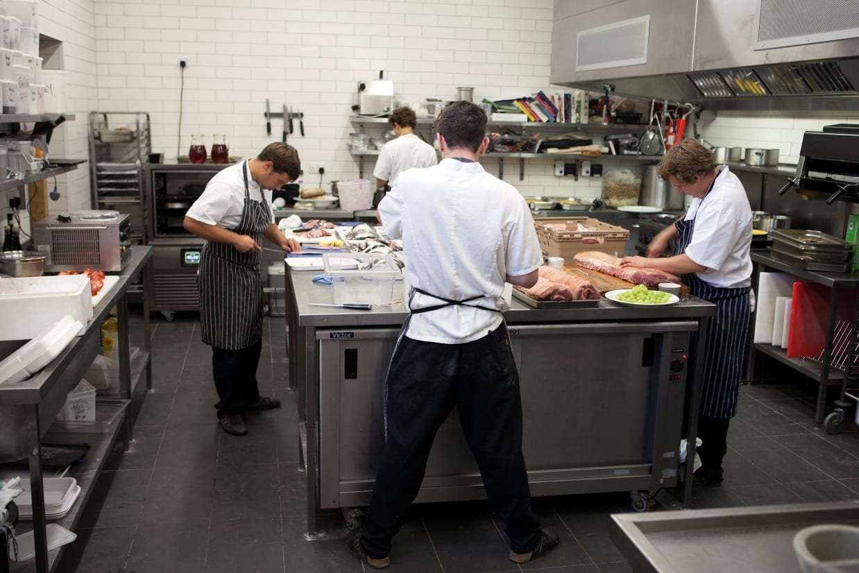 A Royal Visit To The Space Catering Training Kitchen