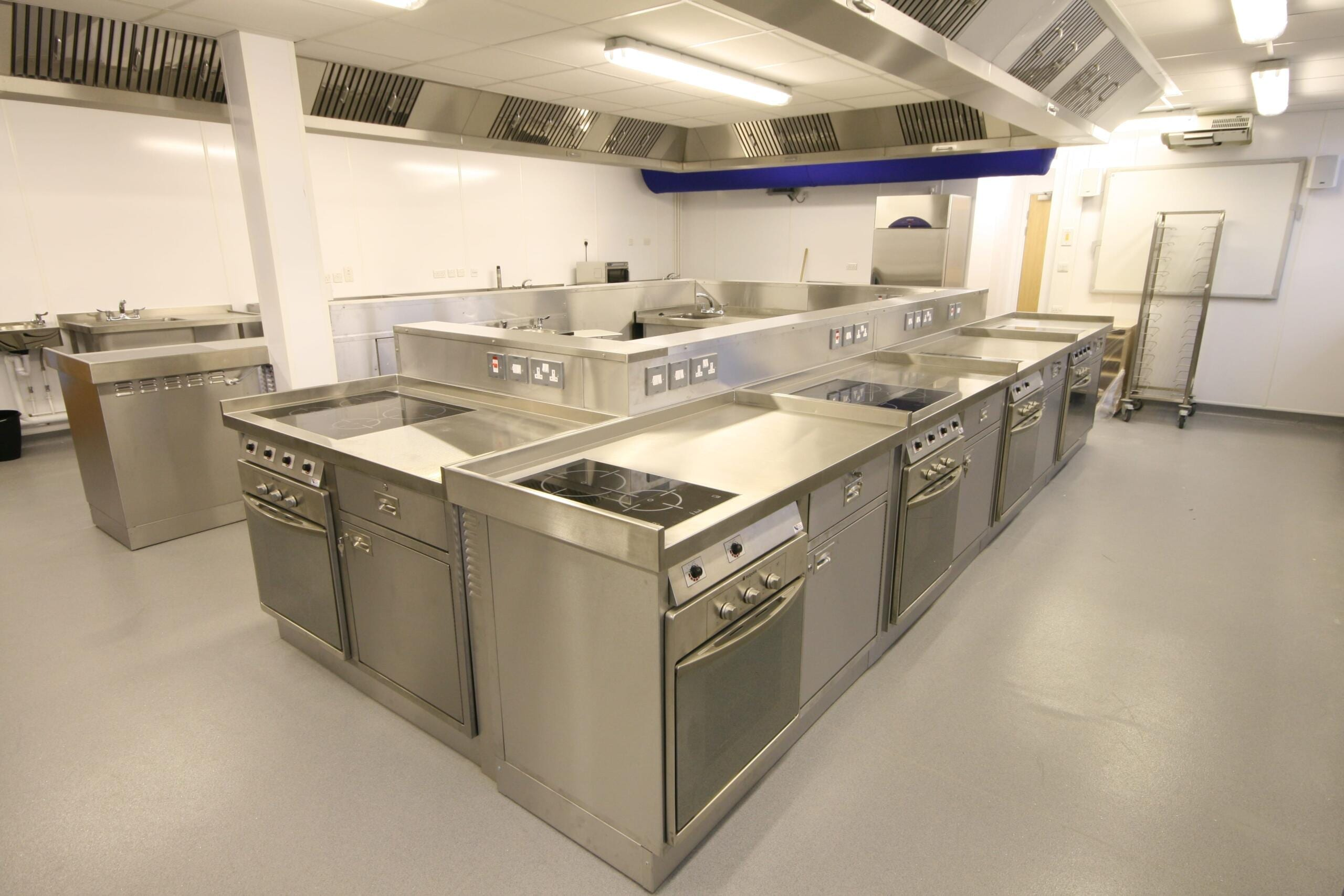 Commercial Kitchen And Oven Installation For Training And Service Launchpad Tewkesbury