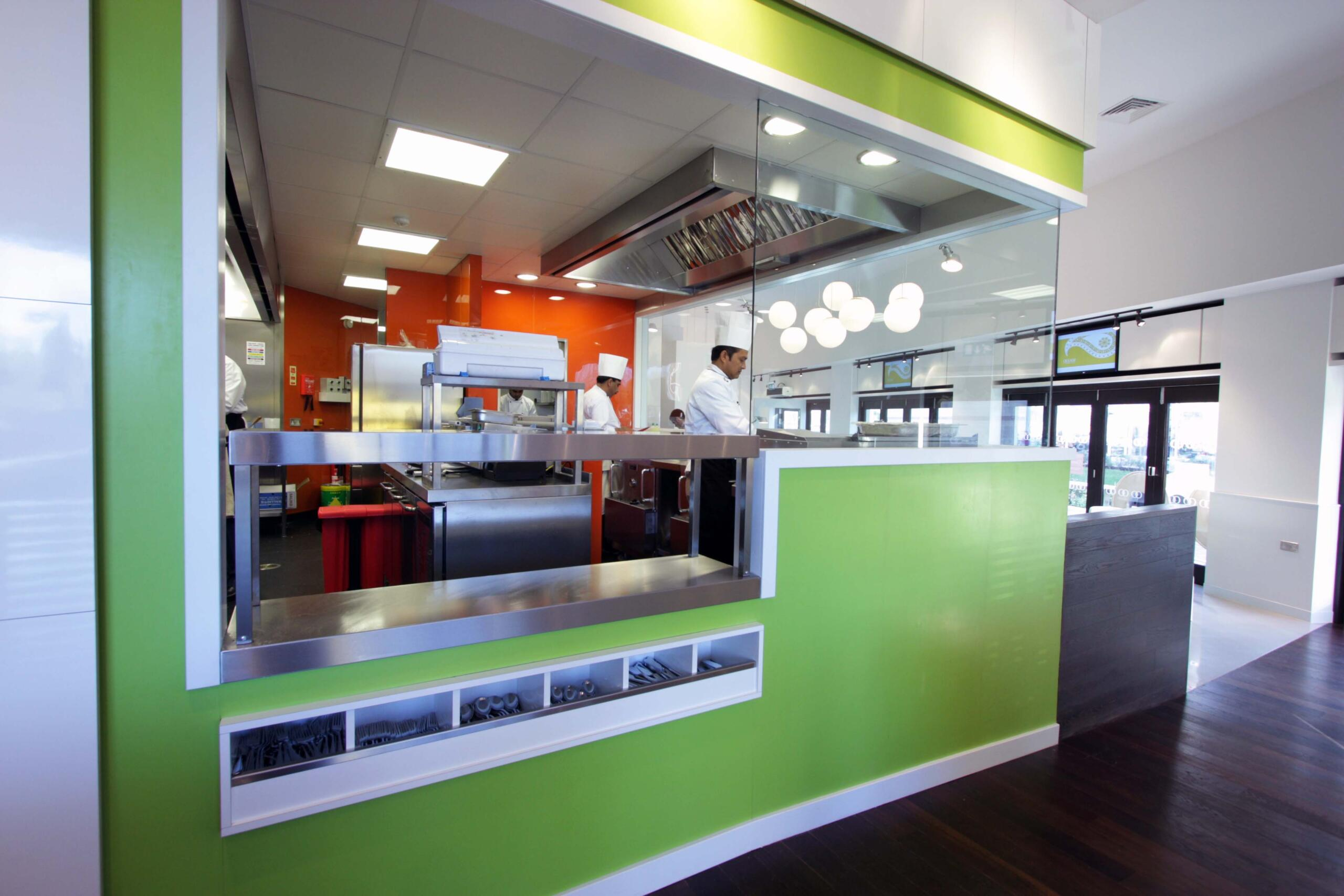 Restaurant Kitchen Design At Oojam By Space Catering